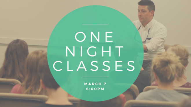 One-Night Parenting Classes