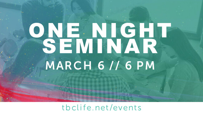 One-Night Seminars for Parents
