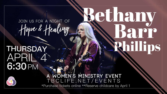 Women's Ministry Event: Bethany Barr Phillips