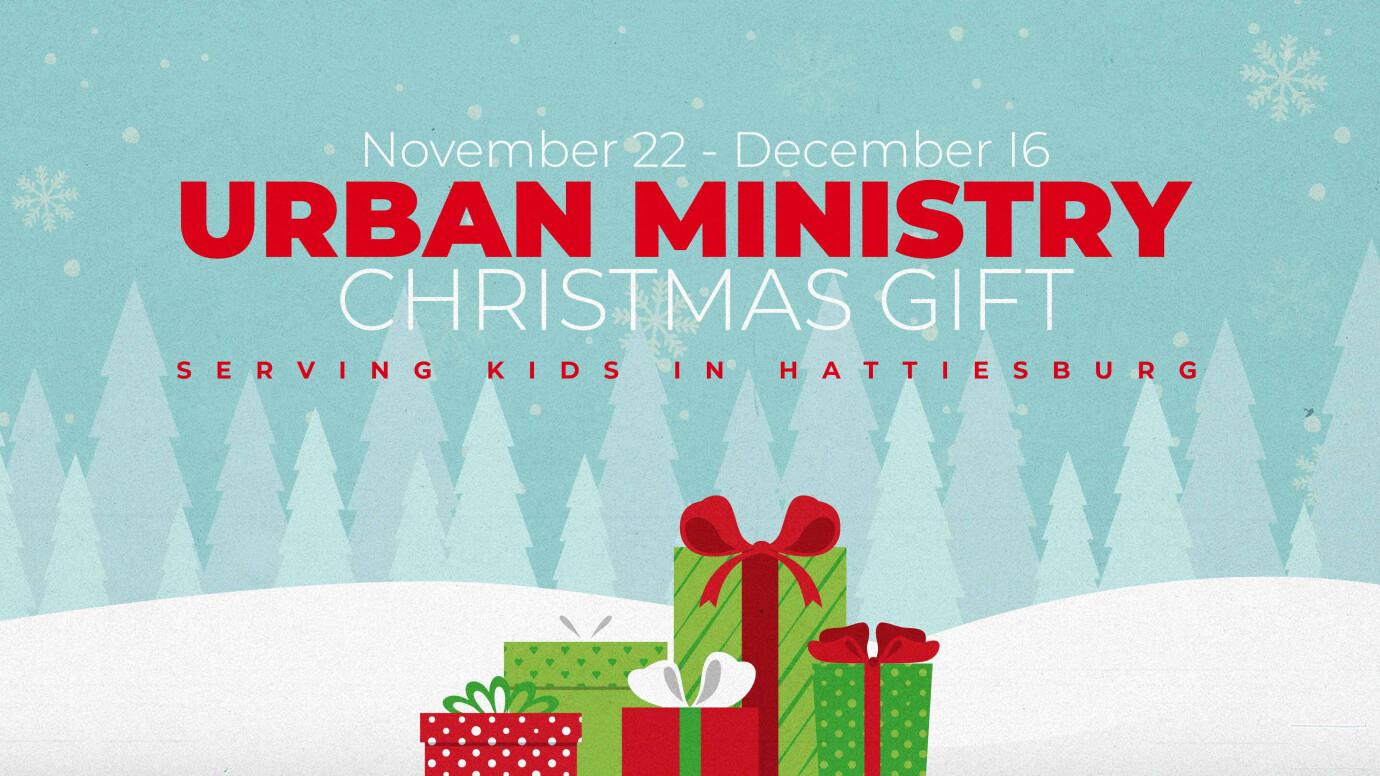 Urban Ministry Christmas Gift