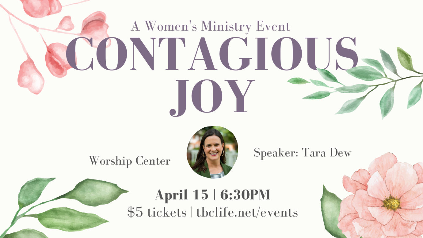 Women's Ministry Event with Tara Dew