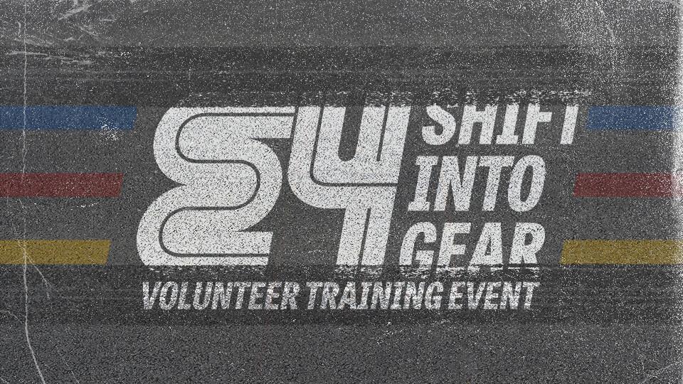 E4: Volunteer Training Event