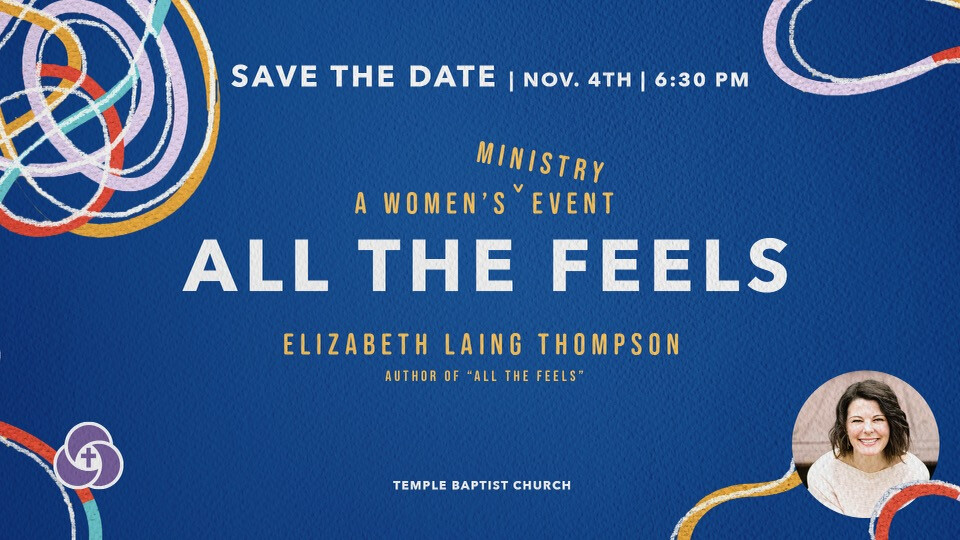 Women's Ministry Event with Elizabeth Laing Thompson